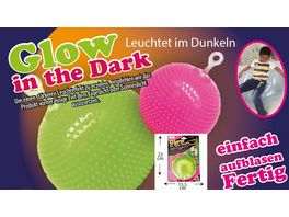 Gutoys Big Baloon Glow in the Dark 80 cm sortiert