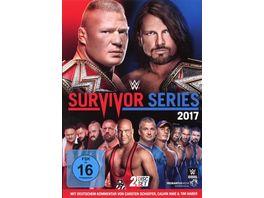 WWE Survivor Series 2017 2 DVDs