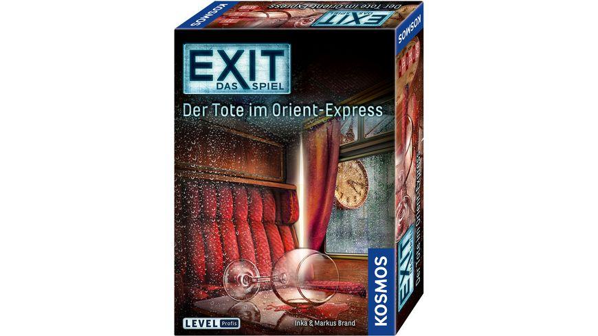 KOSMOS EXIT Das Spiel Der Tote im Orient Express
