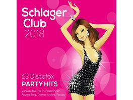 Schlager Club 2018 63 Discofox Party Hits Best of