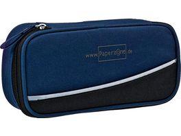 PAPERZONE Schlamperbox Extra Blau