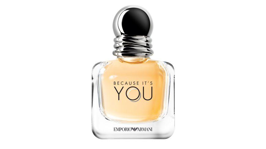 emporio armani because it s you she eau de parfum online bestellen m ller. Black Bedroom Furniture Sets. Home Design Ideas