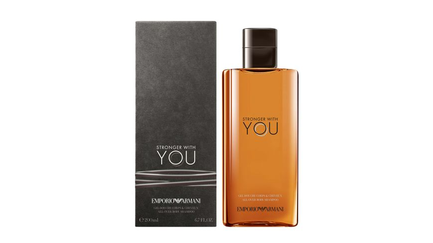 EMPORIO ARMANI Stronger with You He Shower Gel