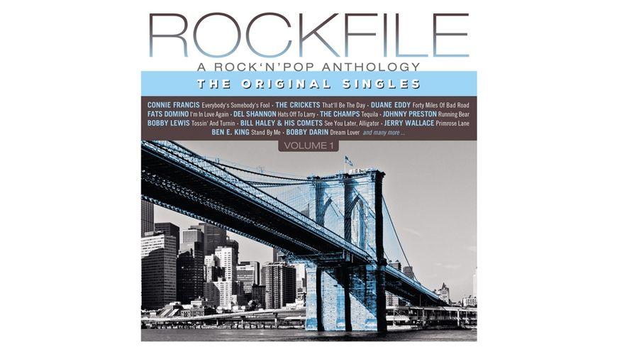 Rockfile Vol 1 180 GR Audiophile Vinyl