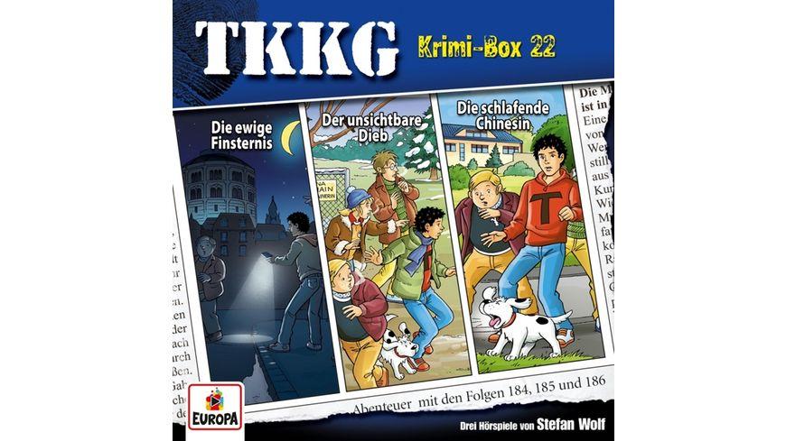 Krimi Box 22 Folgen 184 185 186