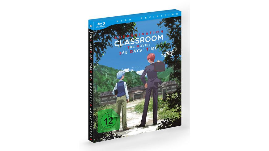 Assassination Classroom the Movie 365 Days Time