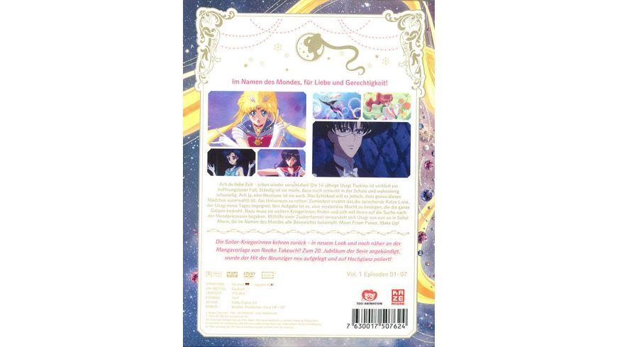 Sailor Moon Crystal Vol 1 2 DVDs