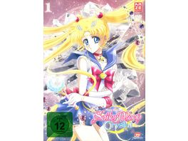 Sailor Moon Crystal Vol 1 2 DVDs