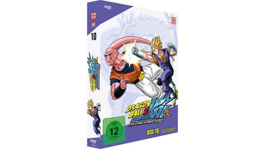 Dragonball Z Box 10 Episoden 151 167 4 DVDs