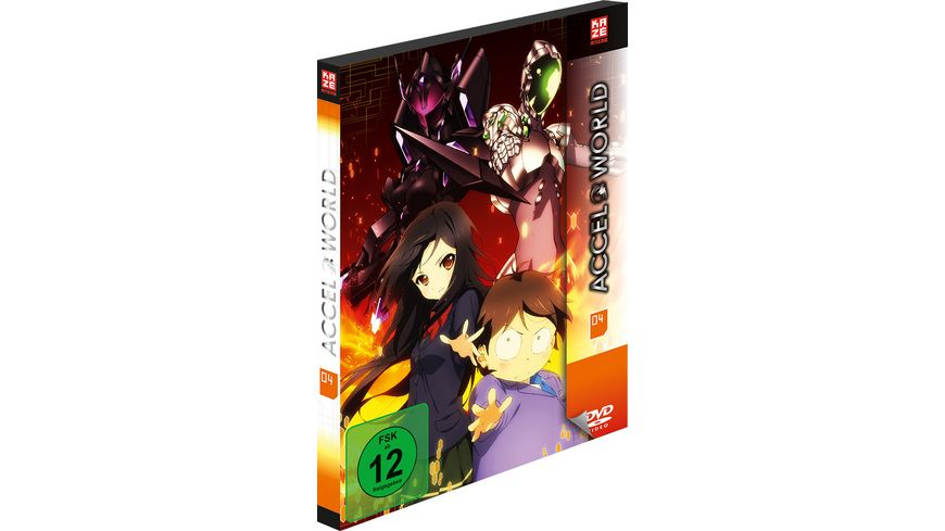 Accel World 4 2 DVDs