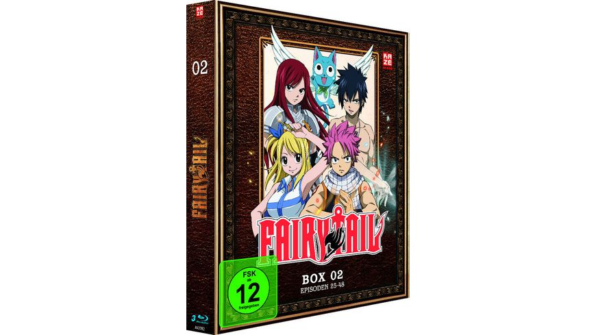 Fairy Tail TV Serie Box 2 Episoden 25 48 3 BRs