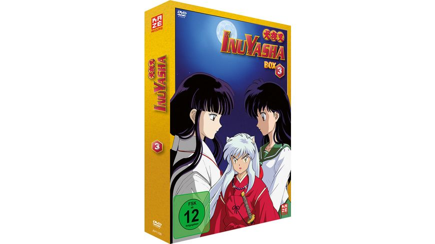 InuYasha Die TV Serie Box Vol 3 Episoden 53 80 7 DVDs