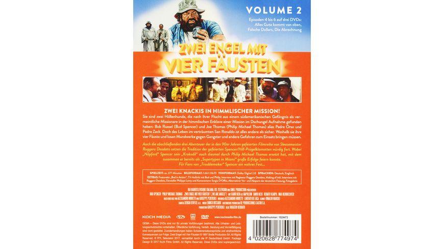 Zwei Engel mit vier Faeusten Vol 2 3 DVDs