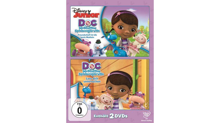 Doc McStuffins Spielzeugaerztin Lass dich untersuchen Freundschaft ist die beste Medizin 2 DVDs