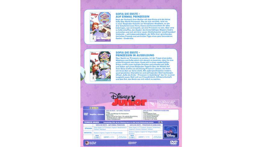 Sofia die Erste Auf einmal Prinzessin Prinzessin in Ausbildung 2 DVDs