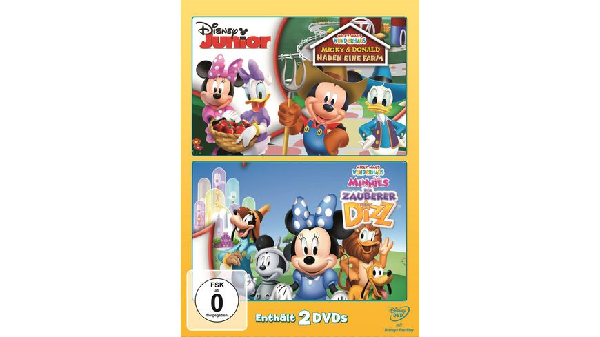 Micky Maus Wunderhaus Der Zauber von Dizz Micky und Donald haben eine Farm 2 DVDs