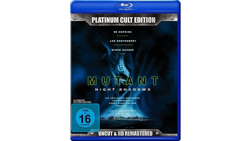 Mutant Night Shadows Platinum Cult Edition Uncut HD Remastered DVD