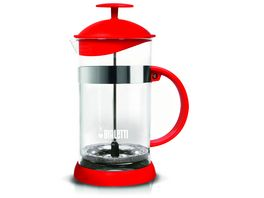 BIALETTI Kaffeebereiter French Press rot