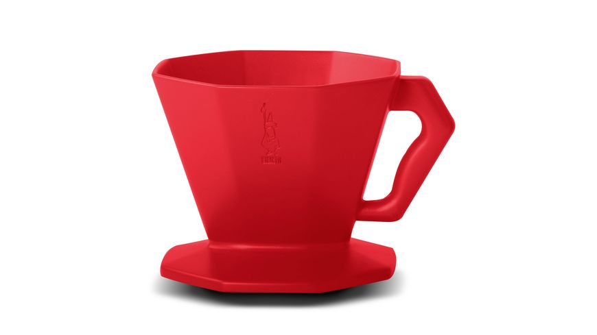 BIALETTI Kaffeefilter Carlo rot