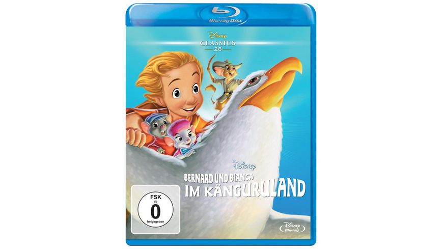 Bernard Bianca 2 Im Kaenguruland Disney Classics