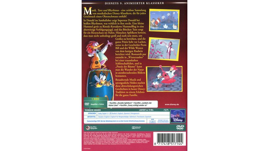 Musik Tanz und Rhythmus Disney Classics