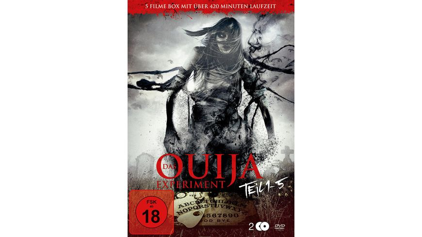 Das Ouija Experiment Teil 1 5 2 DVDs
