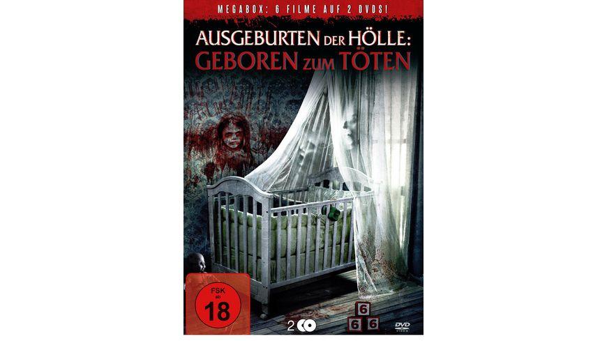 Ausgeburten der Hoelle Geboren zum Toeten 2 DVDs