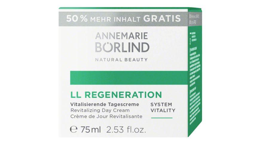 ANNEMARIE BOeRLIND LL REGENERATION Vitalisierende Tagescreme