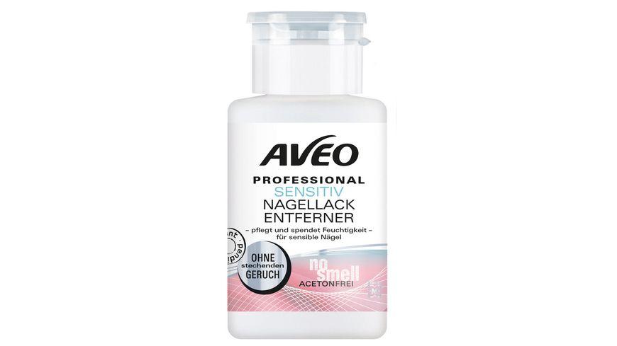AVEO Professional Nagellackentferner Sensitiv No Smell