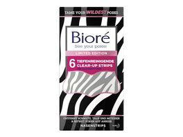 Biore tiefenreinigende Clear Up Strips Limited Edition Zebra