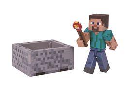 Minecraft Steve mit Minecart Accessoire