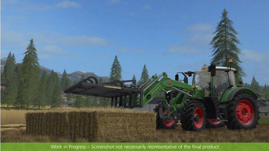 Landwirtschafts Simulator 17 Strohbergung