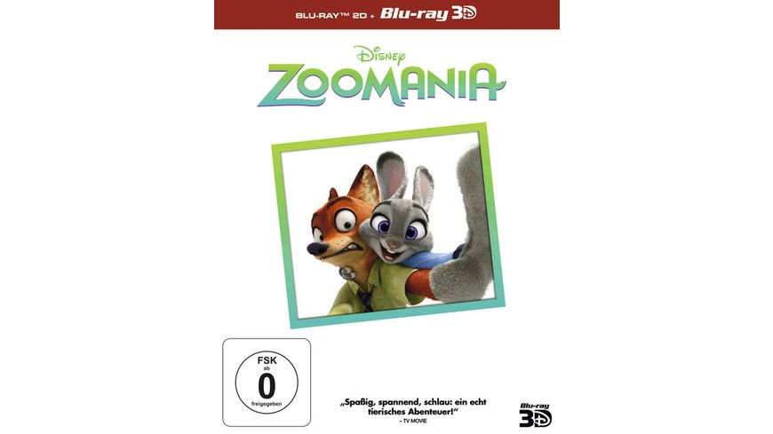 Zoomania Superset 2D Blu ray