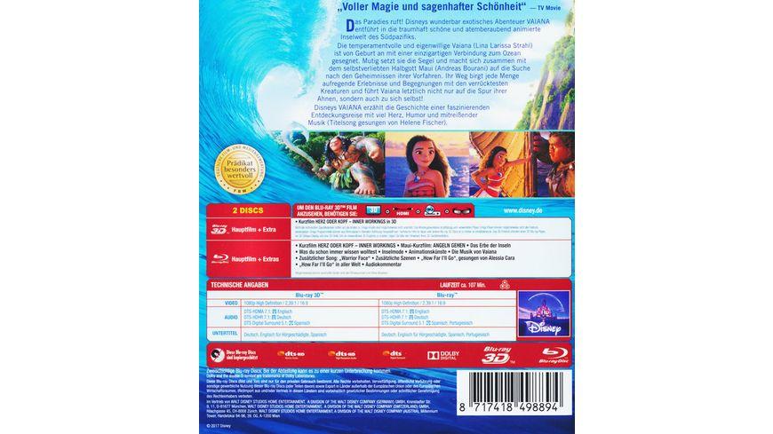 Vaiana Blu ray