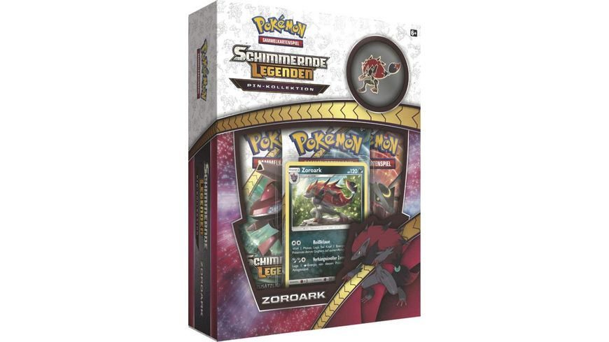 Pokemon Sammelkartenspiel SM03 5 Zoroark Pin Box