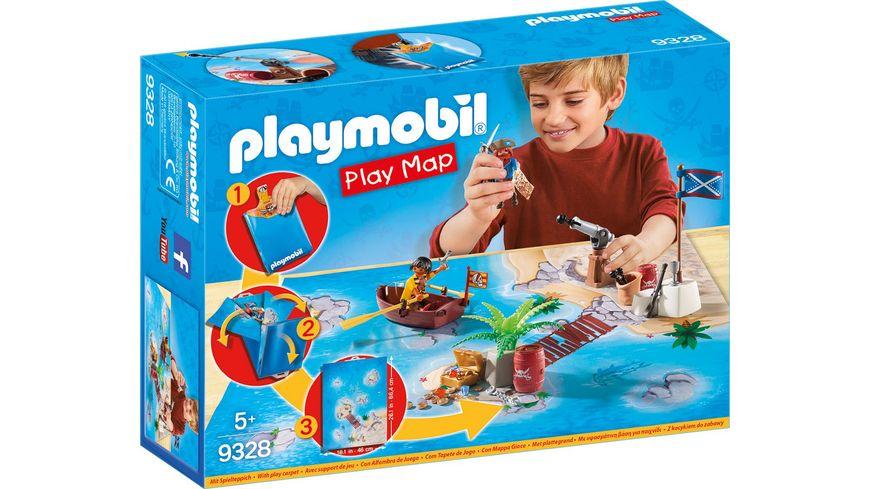 PLAYMOBIL 9328 Play Map Piraten