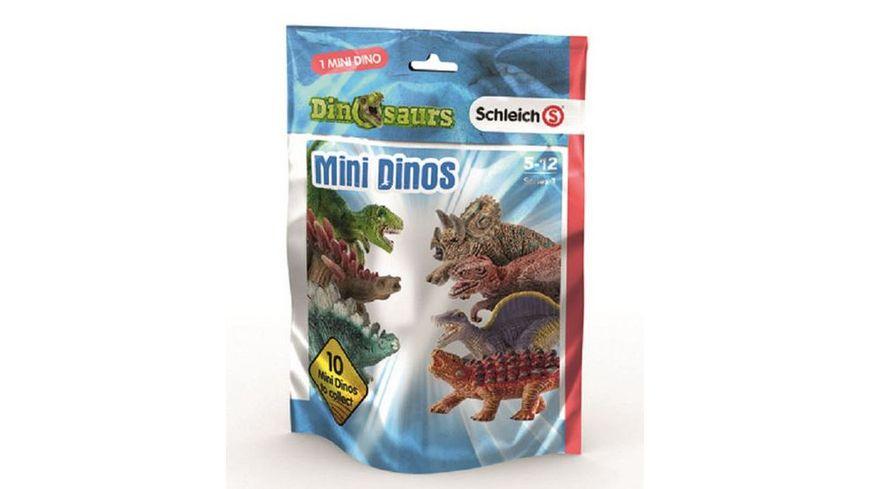 Schleich Dinosaurier Mini Dinosaurier Ueberraschungsfigur Blind Bag