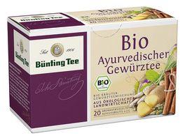 Buenting Tee Bio Ayurvedischer Gewuerztee
