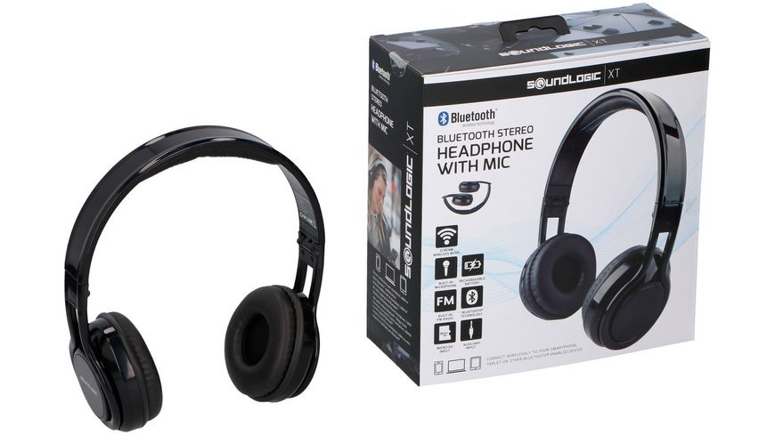 Soundlogic 17889 Bluetooth Stereo Headphone