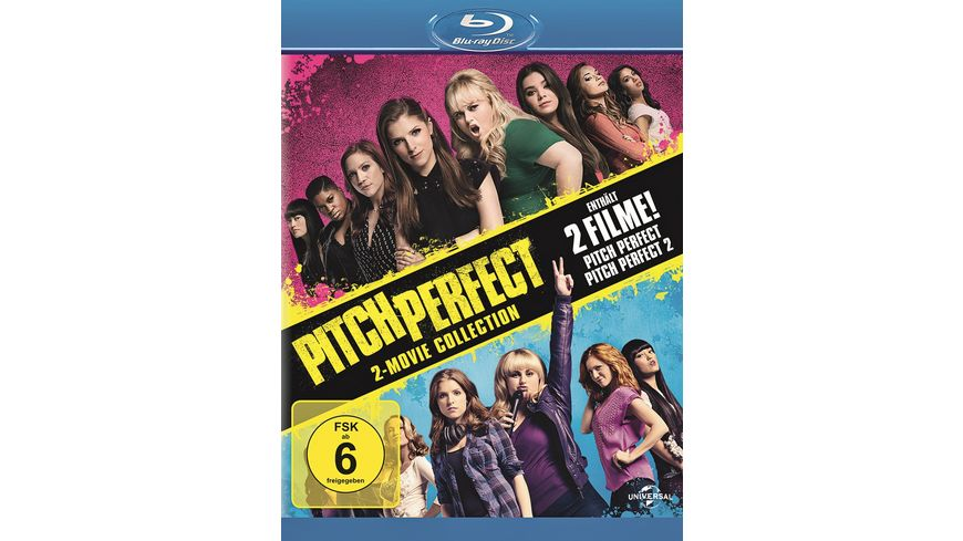 Pitch Perfect 1 2 Box 2 BRs inkl KInogutschein Pitch Perfect 3