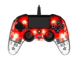 PS4 Controller Light Edition Off lizenziert red