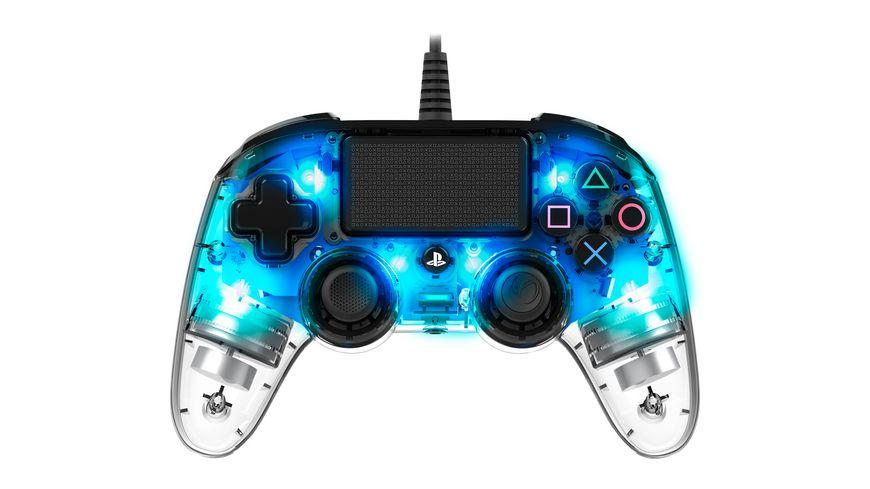 NACON PS4 Controller Light Edition Off lizenziert blue