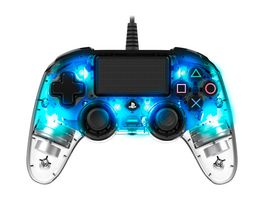 PS4 Controller Light Edition Off lizenziert blue