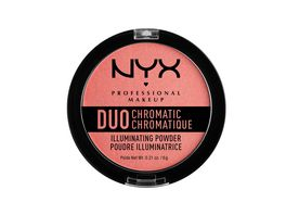 NYX PROFESSIONAL MAKEUP Highlighter Duo Chromatic Illuminating Powder Crushed