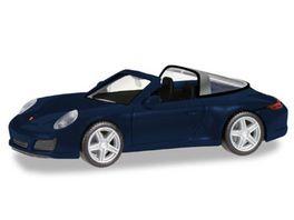 Herpa 38867 Porsche 911 Targa 4 nachtblau metallic