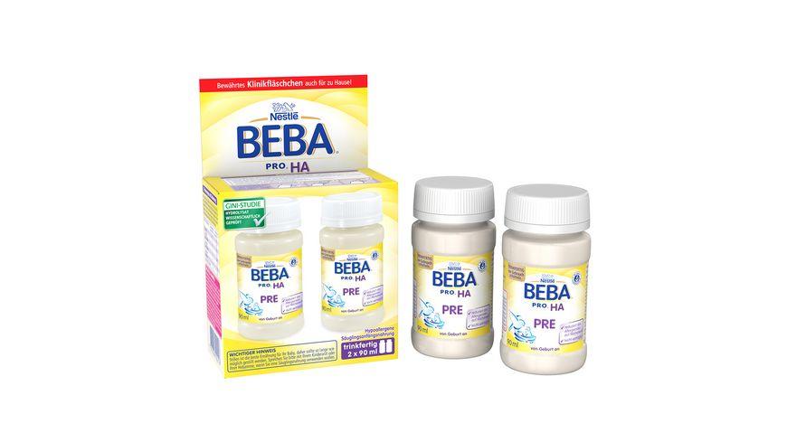 Nestle BEBA Anfangsnahrung PRO HA Pre 2x90 ml