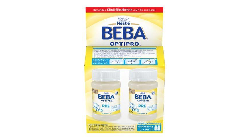 Nestle BEBA Anfangsnahrung OPTIPRO Pre 2x90ml