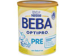 Nestle BEBA Anfangsnahrung OPTIPRO Pre