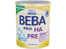 Nestle BEBA Anfangsnahrung PRO HA Pre