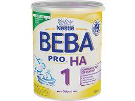 Nestle BEBA Anfangsnahrung PRO HA 1